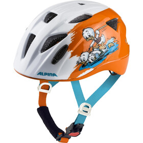 Alpina Ximo - Casque de vélo Enfant - orange/blanc